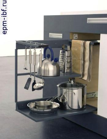 Как сделать маленькую кухню многофункциональной