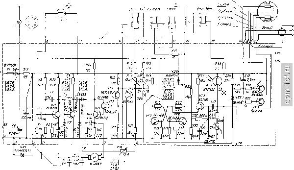 Рис. 9.13.  Принципиальная электрическая схема ЭПУ Г-602.
